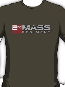 2nd MASS. Regiment - Red T-Shirt