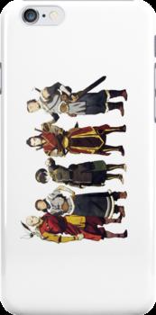 Avatar Old Friends iPhone Case by jereeebear