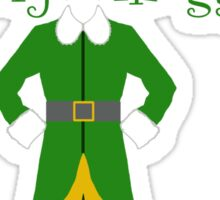 Buddy the ELF - Cotton headed ninny muggins Sticker
