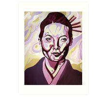 O-Ren Ishii Art Print