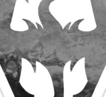 The Skyrim Symbol - Sky Background NoDetail NoFilter Sticker