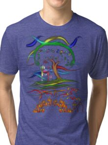 Radiohead King of Limbs Tri-blend T-Shirt