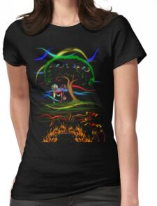 Radiohead King of Limbs Womens Fitted T-Shirt