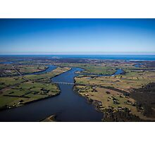 The Manning River - Taree Photographic Print