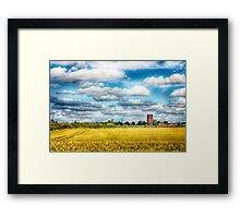 Finedon Water Tower Framed Print