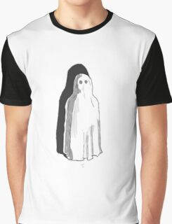 Spoopy Tumblr Ghost  Graphic T-Shirt