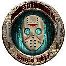 Big Sticker - Voorhees by LonewolfDesigns