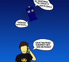 Turning the TARDIS off and on again? by LydiaWoods