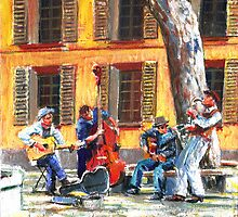 French Buskers by wonder-webb
