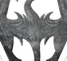 The Skyrim Symbol - Sky Background Detail NoFilter Sticker