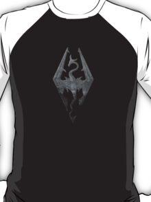 The Skyrim Symbol - Sky Background Detail NoFilter T-Shirt