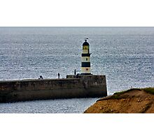 Seaham Harbour Light Photographic Print