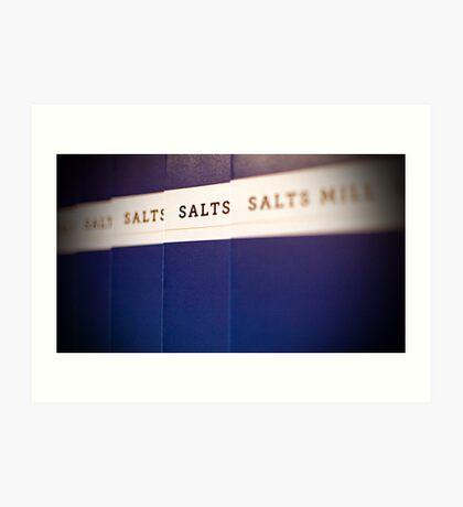 Salts Mill Art Print