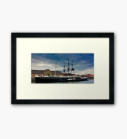 PS Wingfield Castle Framed Print