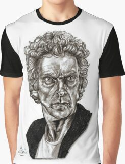 Peter Capaldi - Doctor Who - Drawing  Graphic T-Shirt