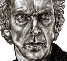 Peter Capaldi - Doctor Who - Drawing  Sticker