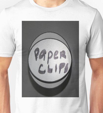 Paper clip stash Unisex T-Shirt