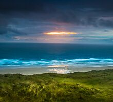 Perranporth Beach by cavan michaelides
