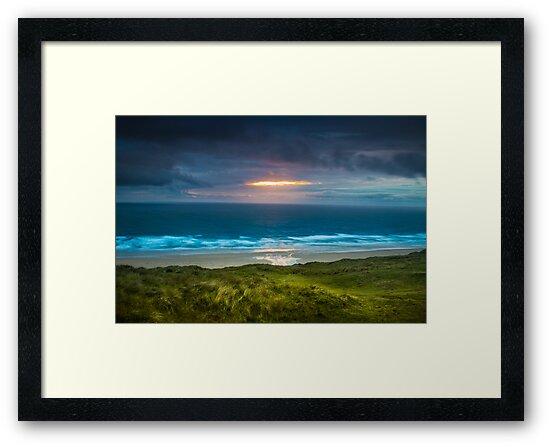 Perranporth Beach by cavan michaelides