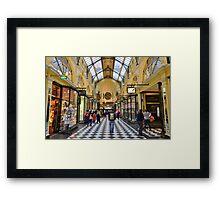 Shopper's Delight Framed Print