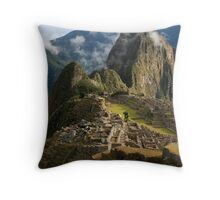 The Lost City of the Incas Throw Pillow