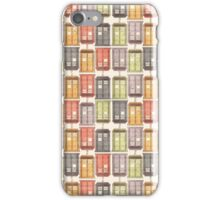Assorted Police Boxes iPhone Case/Skin