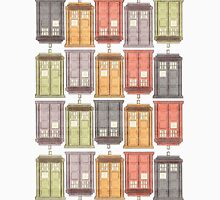 Assorted Police Boxes Unisex T-Shirt