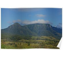The Ramparts- Main Range. Scenic Rim. Queensland. Poster