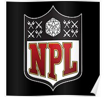 Nerd Poker League Poster