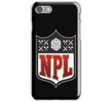 Nerd Poker League iPhone Case/Skin