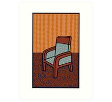 A chair Art Print