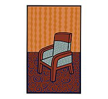 A chair Photographic Print