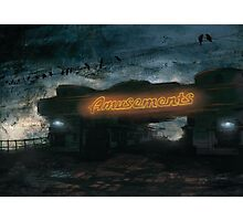 Amusements Photographic Print