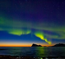 Aurora oval by Frank Olsen