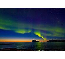 Aurora oval Photographic Print