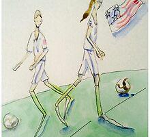 Soccer Women by Beth Rommel