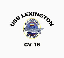 USS Lexington CV 16 Women's Fitted Scoop T-Shirt