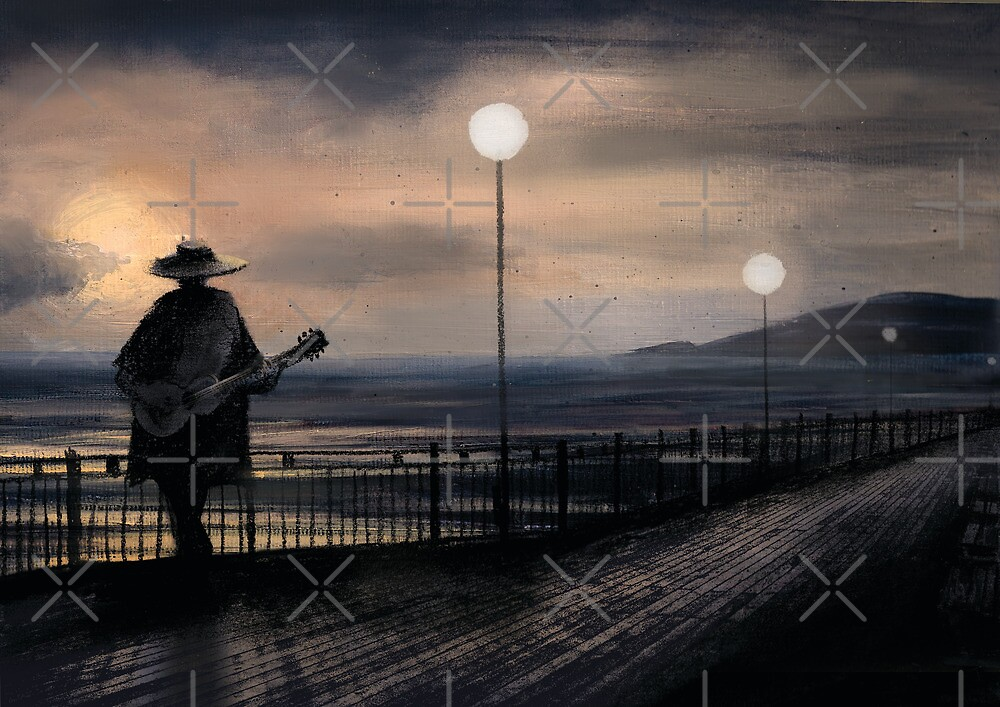 On the Pier by Robert Jackson