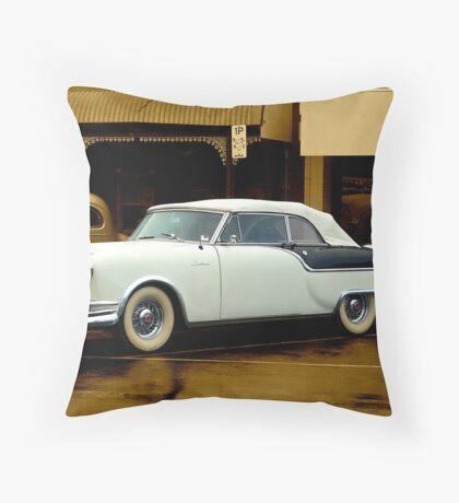 1954 Packard Carribean Convertible Throw Pillow