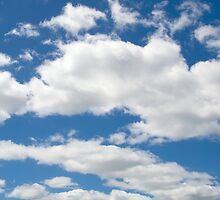 Summer sky by Morag Anderson