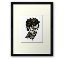 """Choices"" (Matt Smith/Doctor Who) Framed Print"