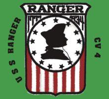 USS Ranger CV-4 Baby Tee