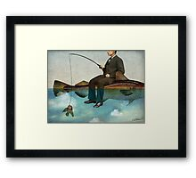 Sky Fishing Framed Print