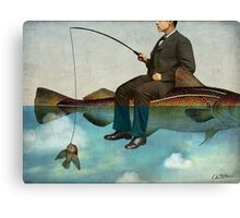 Sky Fishing Canvas Print