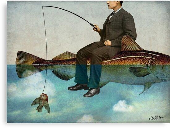 Sky Fishing by Catrin Welz-Stein