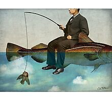 Sky Fishing Photographic Print