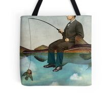 Sky Fishing Tote Bag
