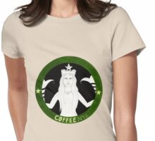Coffee Siren Womens Fitted T-Shirt