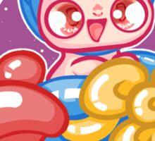 Moon Bunnies: Balloon Aeroplane Sticker