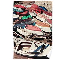 The Boat Builders Yard Poster